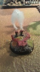 Smoking Boots Objective (Ray 1096) Tags: chaos guard 40k imperial marker objective