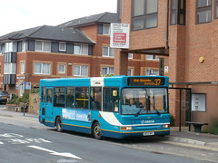 Arriva the Shires 3839 - KE53 NFC (Berkshire bus pics) Tags: pointer dart maidenhead arriva shires transbus 3839 ke53nfc