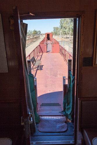 Old Ghan Train Flat Cars