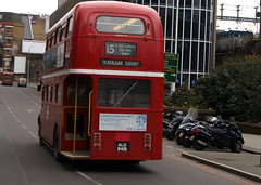 Stagecoach London RM1941 ALD941B AEC Routemaster (chrisbell50000) Tags: park old bus london tower heritage classic vintage back cab hill rear transport platform royal 15 double route deck half end routemaster stagecoach decker aec rm1941 ald941b chrisbellphotocom