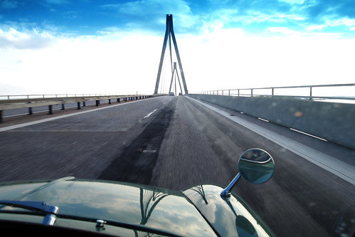 Farø bridge in Denmark