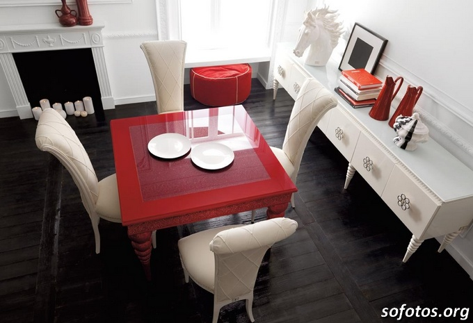 Salas de jantar decoradas (91)