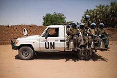 Tribal clashes in El Sereif (UNAMID Photo) Tags: woman cooking sudan tribes reconciliation clashes northdarfur tribalclashes elsereif