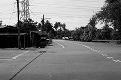 The quiet streets of Malacca #34 (LaiXiang Pow) Tags: bw streets monochrome quiet malacca the