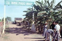 Rural Village: Binh-Phuc-Nhut East of My Tho (Gene Whitmer) Tags: village vietnam 1972 tingiang tingiang dinhtuong
