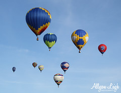 Over Decatur [Explored] (Allyson Praytor) Tags: decatur hotairballoon alabamajubilee pointmallard hareandhoundrace