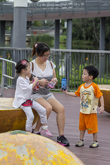 A Day at the Park (Alphone Tea) Tags: life park bridge family light shadow portrait people favorite orange white motion black game cute green art nature water beautiful beauty smile grass childhood sport closeup kids composition contrast pose garden print children fun happy photography evening daylight photo amazing movement model eyes singapore colorful asia pretty day riverside bright little sweet bokeh modeling outdoor weekend hellokitty great models chinese mother adorable running scooter age roadside lovely staring naturalight active 2013 60d 70200f28lisiiusm