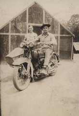Marine on Motorcycle, Nicaragua, circa 1930 (Marine Corps Archives & Special Collections) Tags: john marine corps motorcycle marines spear