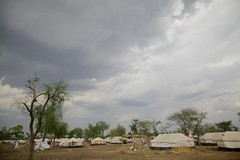 Thousands of Refugees Moved Before the Rains Hit South Sudan (UNHCR) Tags: tents southsudan relocation sudaneserefugees campoverview