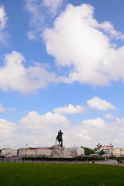 Bronze Horseman / 彼得大帝青銅騎士像