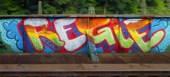 - (txmx 2) Tags: graffiti hamburg trainwindow regie