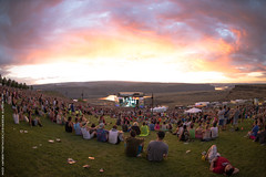 Paradiso Festival at The Gorge 2013 (Kevin J Salisbury) Tags: sunset music beauty clouds landscapes nikon view live livemusic sunsets columbia fisheye gorge washingtonstate columbiagorge paradiso thegorge musicvenues thenorthwest paradisofestival paradiso2013
