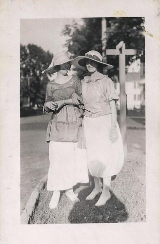 Vintage, Style, 1920s, Hats Dresses