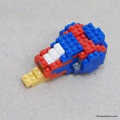 nanoblock Turbo (inanoblock) Tags: cute movie lego bricks snail turbo instructions blocks build nanoblock  nanoblocks
