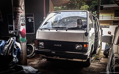Toyota Hiace LH51 (Aadil Chouji Schiffer) Tags: cars car japanese toyota van  jdm kuruma hiace  lh52  lh50 lh51