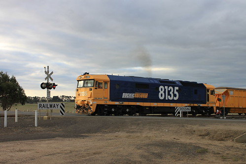 8135 + Mineral Sands at Iluka sidings