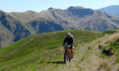 Climbing and Camping (Doug Goodenough) Tags: china road camping sun green bike bicycle creek river scott spring jen ride packing spokes salmon sadie 15 idaho april powerline pedals canyons waha 205 bikepacking drg53115 drg53115p waphilla drg53115ppowerline