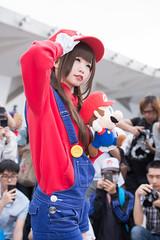 P63_006 (ms09Dom) Tags: cosplay コスプレ マリオ pf22 五木あきら itsukiakira