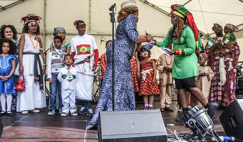 AFRICA DAY 2015 - CELEBRATED TODAY AT FARMLEIGH HOUSE [DUBLIN] REF-104420