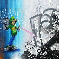 IMG_20150511_215222 (bg183tatscru@hotmail.com) Tags: train character canvas artists mta 1980 spraycan throwup tatscru southbronx graffititrain bg183 graffiticharacter muralkings graffiticanvas bestartists bestgraffiti graffiticanvases bg183tatscru gtraffitithrowup bestgraffiticharacter wallworkny