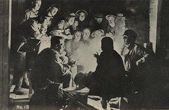 Taking a break from the battlefield, chatting around the campfire (State Library of Queensland, Australia) Tags: france fire postcard campfire queensland soldiers ww1 statelibraryofqueensland slw picturepostcard australiansoldiers slq frankhurley