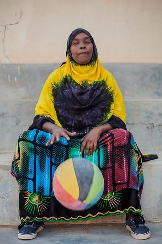 Basketball girl Somaliland