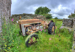 The forgotten tractor (Hide & Seek Images) Tags: