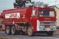 Mack MB tank truck (PAcarhauler) Tags: truck mack coe tanker