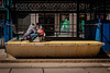 Waiting for the Train (Anthony Morganti Photographer) Tags: street people train buffalo downtown streetphotography fatheranddaughter waitingforthetrain downtownbuffalo