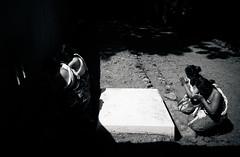 Light and Shadows (ginanjaritsnain) Tags: life bw indonesia nikon southeastasia shadows culture ritual tradition ramadhan journalism humaninterest banyumas bonokeling