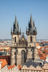 Church of Our Lady before Tn (anthsnap!) Tags: czechrepublic prague praha church churchofourladybeforetn