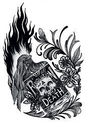 Revolution &/or death (Gabopatapalo) Tags: art illustration draw drawink fineart blakandwhite dotwork
