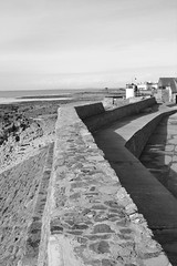 Breakwater wall at Porthcawl (cmw_1965) Tags: porthcawl pier breakwater breaksea lighthouse watchtower watch tower sea coast