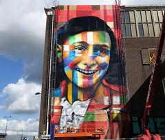 kobra mural in progress (wojofoto) Tags: ndsm kobra mural graffiti amsterdam wojofoto wolfgangjosten nederland holland netherland streetart