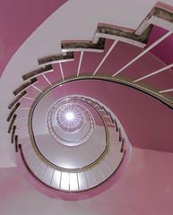 Caf Glockenspiel (MyMUCPics) Tags: mnchen 2016 munich indoor treppe treppenhaus stairs staircase wendeltreppe interior architektur architecture abstract abstrakt september design