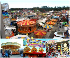 All The Fun of the Fair ... (** Janets Photos **) Tags: uk hullfair fairgrounds showmen rides stalls colours f collage