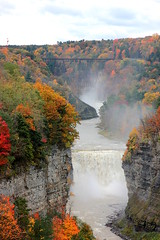 Middle Falls (epicDi) Tags: letchworthstatepark newyorkstate waterfalls geneseeriver autumn