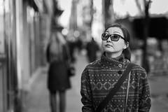 high brow (Zach Cowan) Tags: city nyc newyork newyorkcity people portrait blackandwhite blackandwhiteportrait bwportrait candid candidportrait candidstreet monochrome street streetphotography streetportrait urban