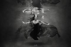Cody Submersion Black & White (wesome) Tags: adamattoun underwaterportrait ikelite