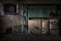 Mannor house kitchen3 (ducatidave60) Tags: fuji fujifilm fujinonxf23mmf14 abandoned dereliction decay fujixt1