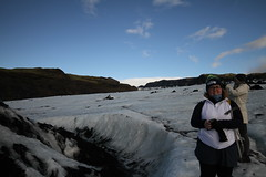 Iceland Trip (scotttiwata) Tags: iceland moonrisw moonrise moon hiking glacier hike glacierhike