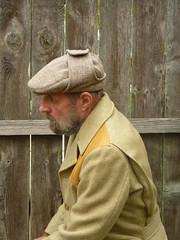 Stetson Harris Tweed  Cap (Michael A2012) Tags: cap flat earflap stetson harris tweed handwoven