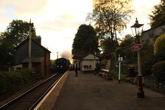 Arriving with the Last Train (JamesHorrellPhotography) Tags: steam trains kwvr haworth keighley 43924 90733 5820 7822 railway