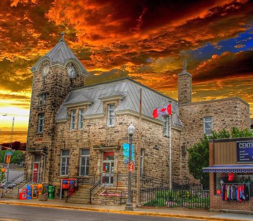 Elora Ontario ~ Canada ~ Elora Post Office  1912 ~  Heritage Building