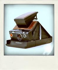 Polaroid SX-70 Land Camera Model 2 (Leo Reynolds) Tags: xleol30x poladroid polaroid faux fauxpolaroid fake fakepolaroid phoney phoneypolaroid camera nottakenbyme