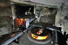 Blinds (flallier) Tags: carrire souterraine calcaire underground limestone quarry chars blinds vhicules vbl tourelle