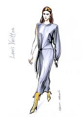 img949 (Irina V. Ivanova) Tags: 365sketches fashionillustration sketching fashion louisvuitton