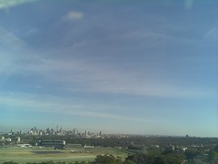 Sydney 2016 Oct 21 08:18 (ccrc_weather) Tags: ccrcweather weatherstation aws unsw kensington sydney australia automatic outdoor sky 2016 oct earlymorning