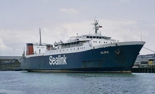 Sealink mv Ulidia Newhaven