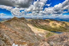 Mount Evans, Colorado (AP Imagery) Tags: mount summitlake landscape rockymountains mountain colorado summit evans mtevans devner